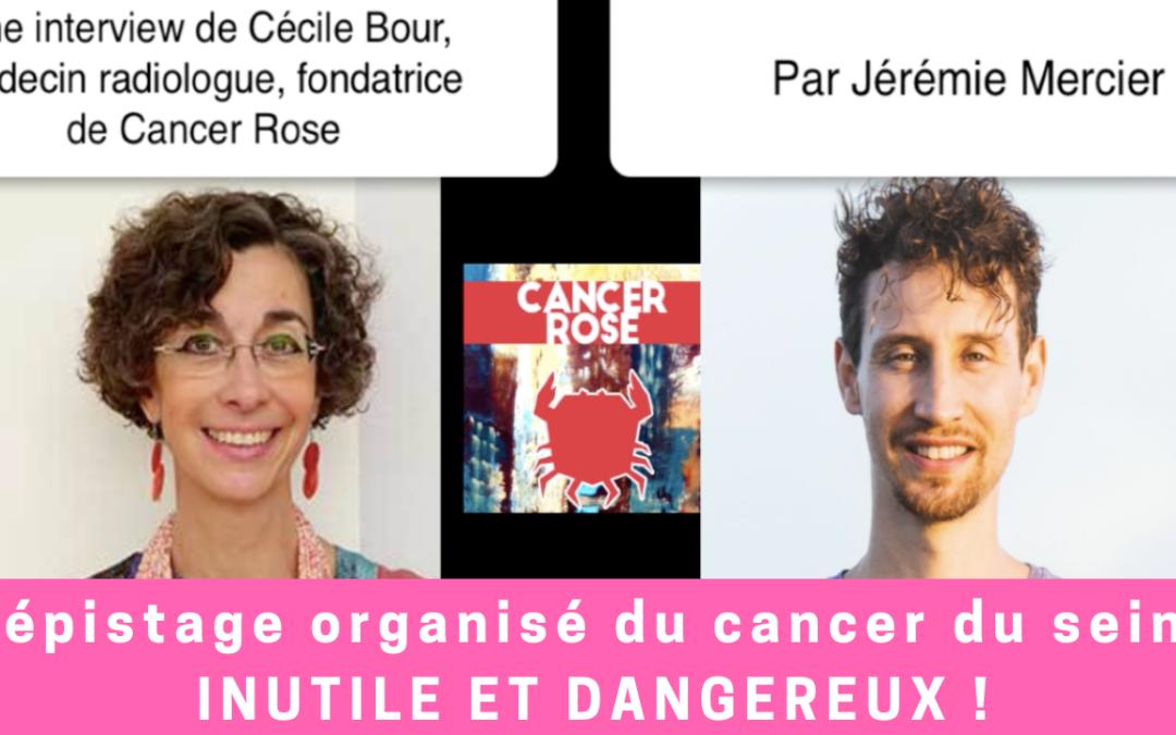 Dépistage organisé du cancer du sein : inutile et dangereux !