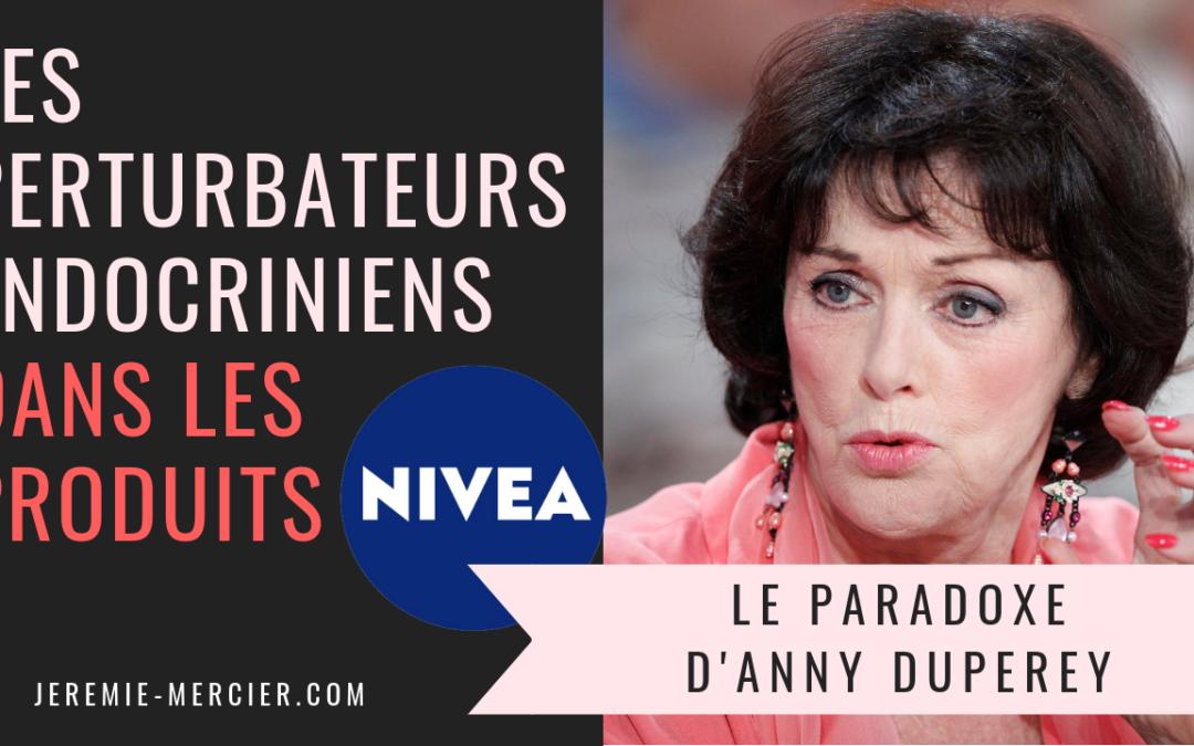 Anny Duperey et le paradoxe Nivea