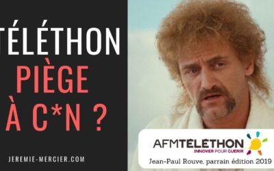 Téléthon : piège à c*n ? – Interview de Jacques Testart