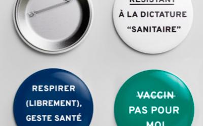 «Badges de résistants» : le manifeste